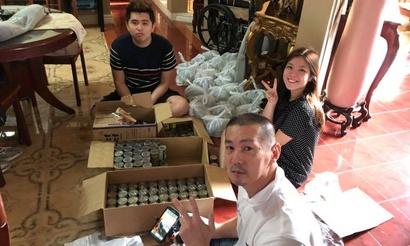 Саппорт в игре и в жизни. Tims накормил бедных филиппинцев в честь Рождества