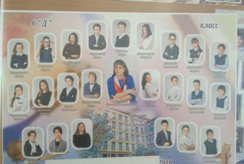 Фото учеников на рабочем столе педагога. Нашли Марка?