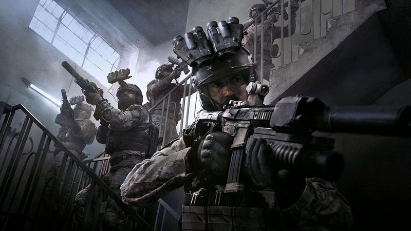 Промокадр Call of Duty: Modern Warfare (2019)