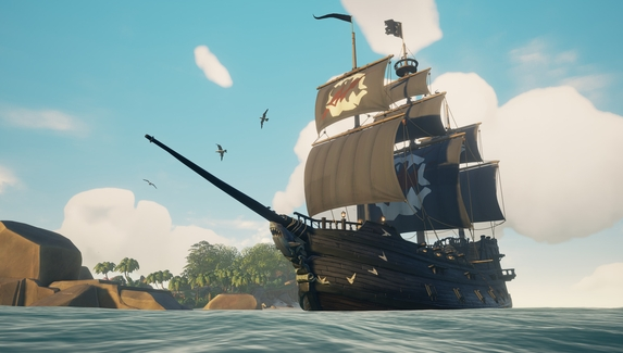 Sea of Thieves возглавила чарт Steam — ремастер Command & Conquer стартовал со второй строчки