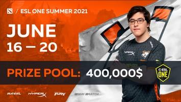 Virtus.pro получает прямой инвайт на ESL One Summer 2021