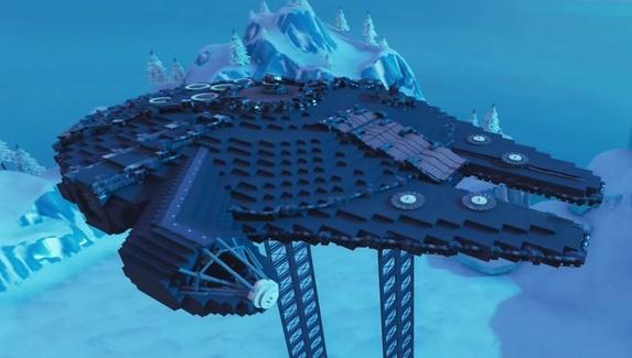 В Fortnite построили корабль Хана Соло