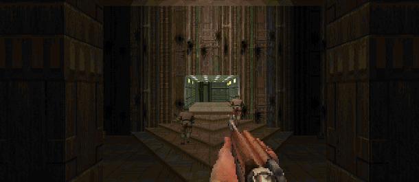 Какого из перечисленного оружия не было в Doom и Doom 2?