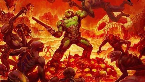 В сети появились кадры из Doom для мобильных устройств