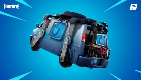 В Fortnite добавили фургон возрождения
