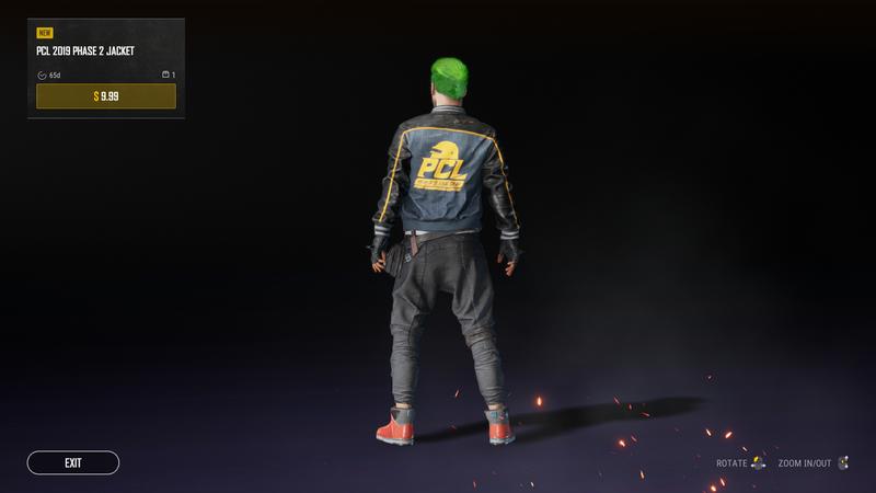 Куртка PUBG Champions League