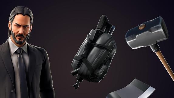 В Fortnite добавили скин Джона Уика и режим «Награда за голову»