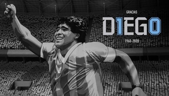 «Спасибо, Диего» — EA Sports почтила память Марадоны в FIFA21
