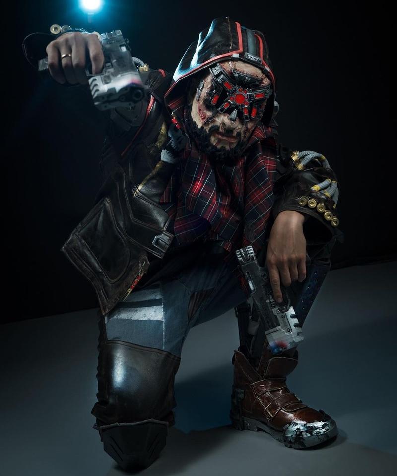 Косплей на Royce из Cyberpunk 2077. Модель: Stepanovz. Источник: instagram.com/stepanovzapilit