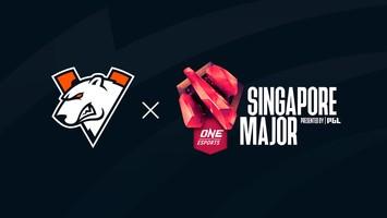 Резервный игрок Virtus.pro на Singapore Major 2021
