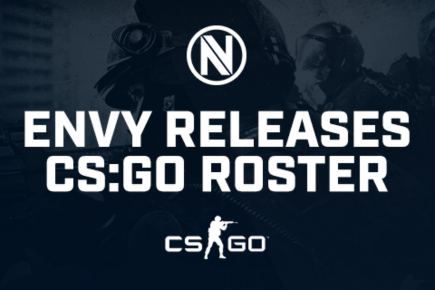 Team EnVyUs part ways with CS:GO rosters, effective immediately
