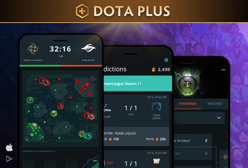 Приложение Dota Plus