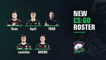 Snax, byali, and TOAO to be a part of the new CS:GO roster