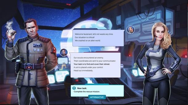 По мере прохождения сюжета, игроку открываются новые локации на глобальной карте.