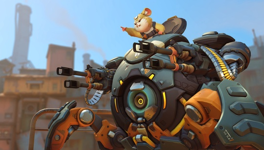 Hammond rolls into Overwatch alongside perma-stealth Sombra with latest patch