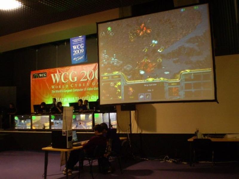 StarCraft на «большом» экране