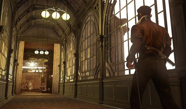 Серия Dishonored склоняет к ненасильственному прохождению сразу на нескольких уровнях. От действий игрока зависят достижения, состояние мира и концовка