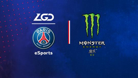 PSG.LGD picks up Monster as a sponsor