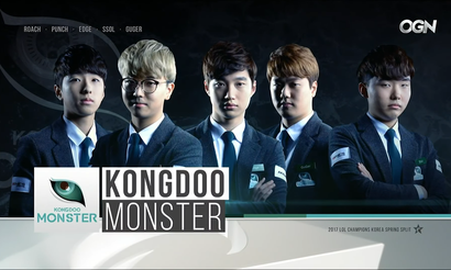 Kongdoo Monster выступит в весеннем сезоне LCK 2018