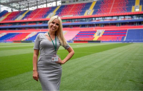 Екатерина Кирильчева, руководитель видеопродакшна ПФК ЦСКА. Источник: «ВКонтакте»