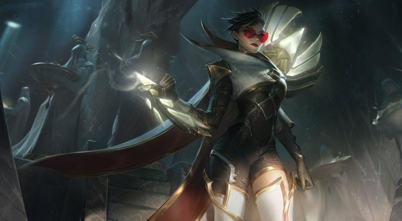 Riot показала линейку скинов в честь будущего ивента в League of Legends