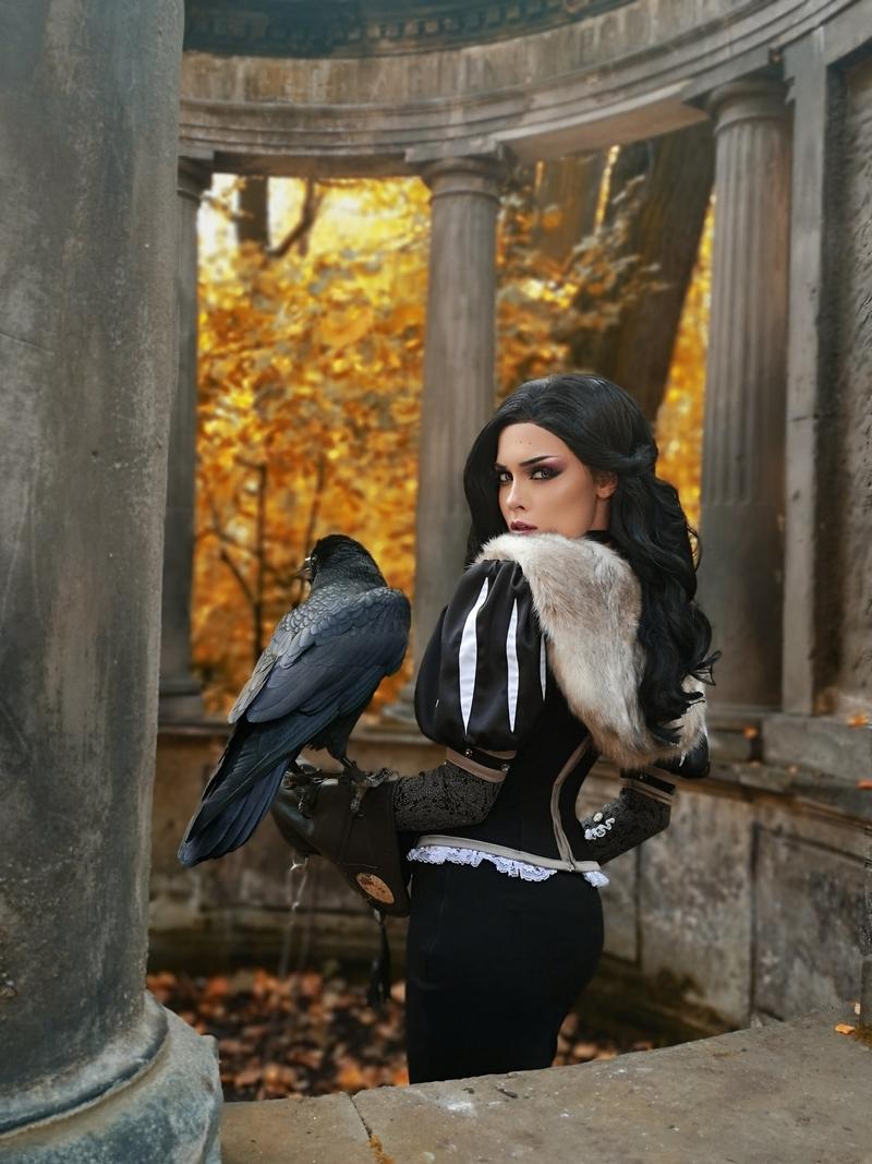 Косплей на Йеннифэр из Венгерберга. The Witcher. Косплеер: Илона Бугаева. Источник: facebook.com/sladkoslavailona