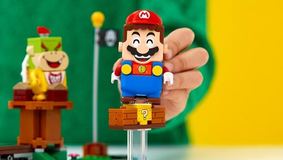 Набор LEGO по мотивам Super Mario стал одной из самых успешных коллабораций компании