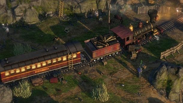 Какой вестерн без ограбления поезда