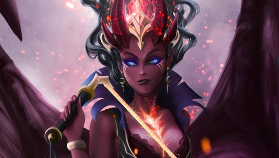 Баги анимации и недоработанный плащ — какие недочеты Valve нужно исправить в аркане для Queen of Pain?