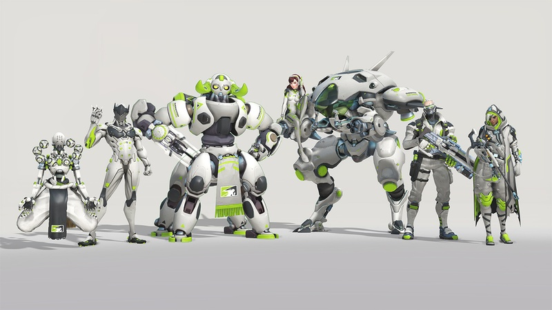"""The """"Away"""" skins for Overwatch Condenders"""