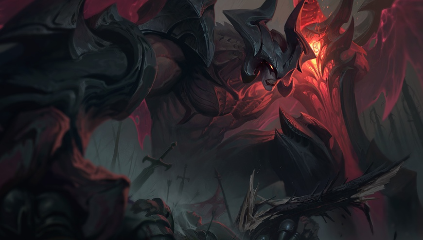 Riot Games reveal Aatrox's reworked abilities