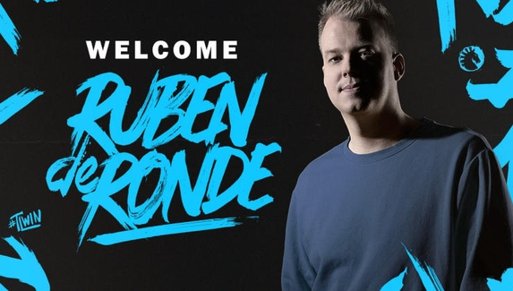 Голландский диджей Рубен де Ронде стал амбассадором Team Liquid