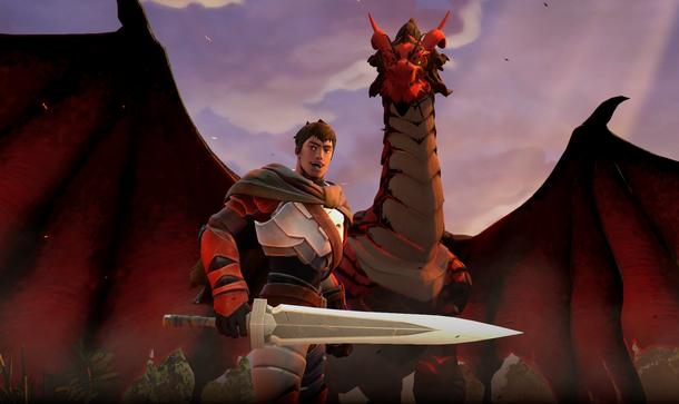 Личность Dragon Knight — Davion of Dragon Hold
