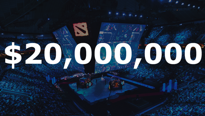 The TI8 prize pool just hit $20,000,000
