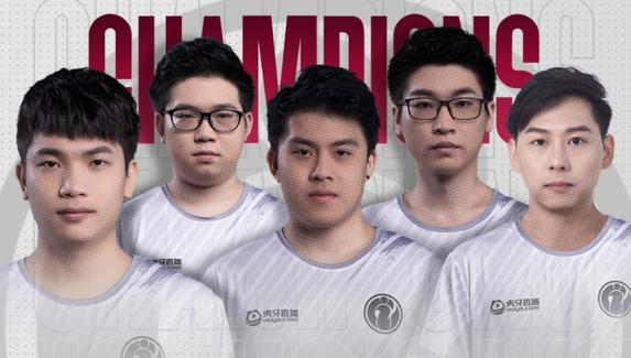 Invictus Gaming стала чемпионом ONE Esports Singapore Major2021
