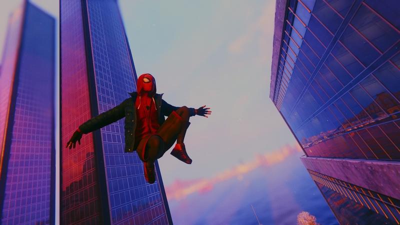 Скриншот из Marvel's Spider-Man: Miles Morales