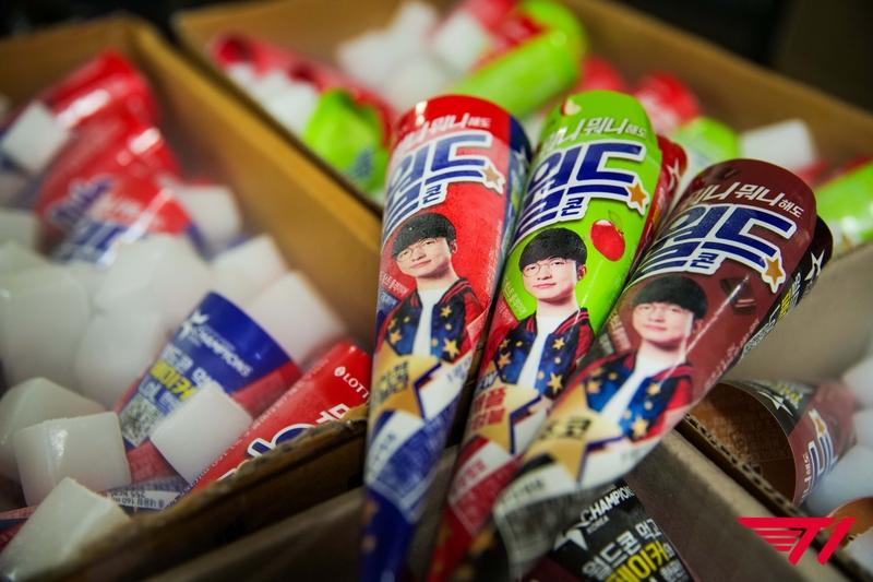 Faker стал лицом рекламной кампании мороженого