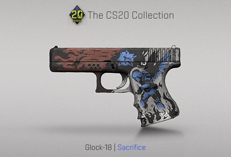 Скин на Glock-18 | Источник: blog.counter-strike.net
