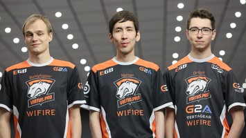Virtus.pro defeated Cloud9 in the Trinity Series