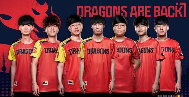 Участники состава Shanghai Dragons образа 2020 года. Источник: Shanghai Dragons
