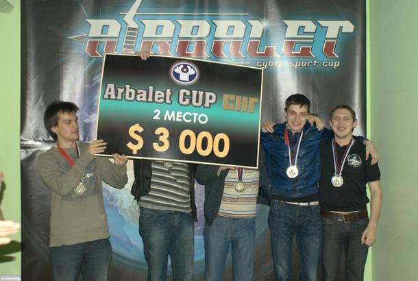 OverDrive(крайний слева) на Arbalet Cup SNG 2 в 2010 году. Фото: Vegas