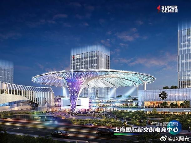 Проект киберспортивной арены в Шанхае