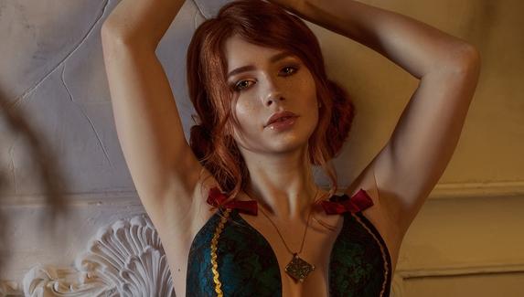 Будуар чародейки — откровенный косплей на Трисс Меригольд из TheWitcher