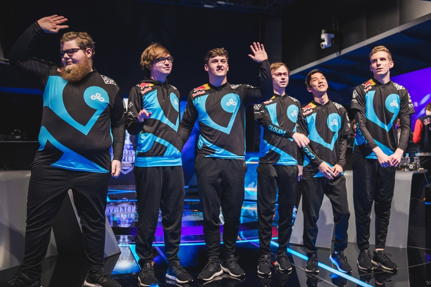 Cloud9 narrowly escape Gambit Esports in Worlds play-in knockout thriller
