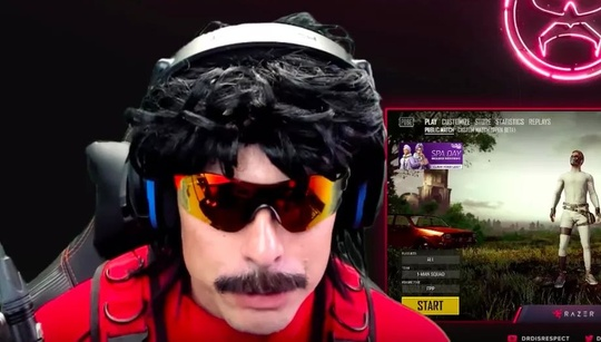 Shots fired at DrDisRespect's house, no one hurt