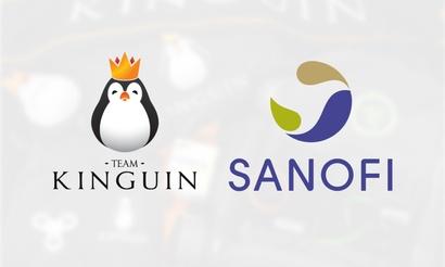Производитель лекарств стал партнером Team Kinguin