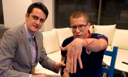 Fng нарисовал татуировку для Afoninje. Мидер доиграет с ней турнир