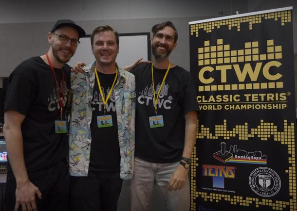 На фото слева направо: Адам Корнелиус, Винс Клементе, Трей Гаррисон. Источник: Twitter