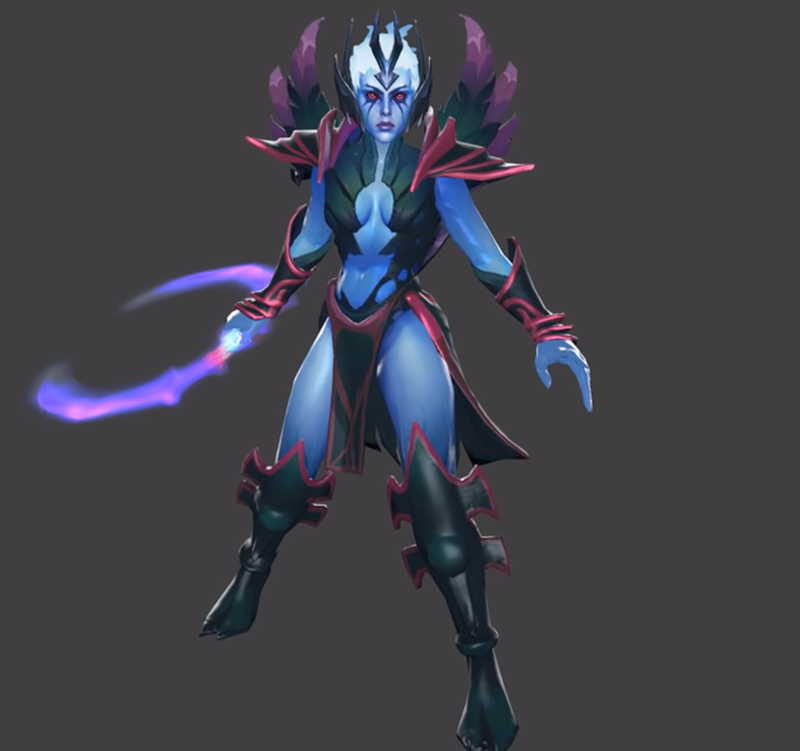Vengeful Spirit третья модель