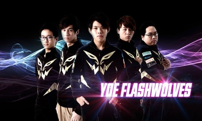 Триумф yoe Flash Wolves на IEM Taipei